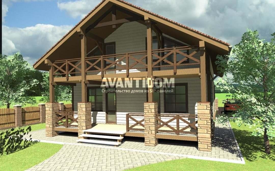 Начало строительства дачи или загородного дома: типовой проект
