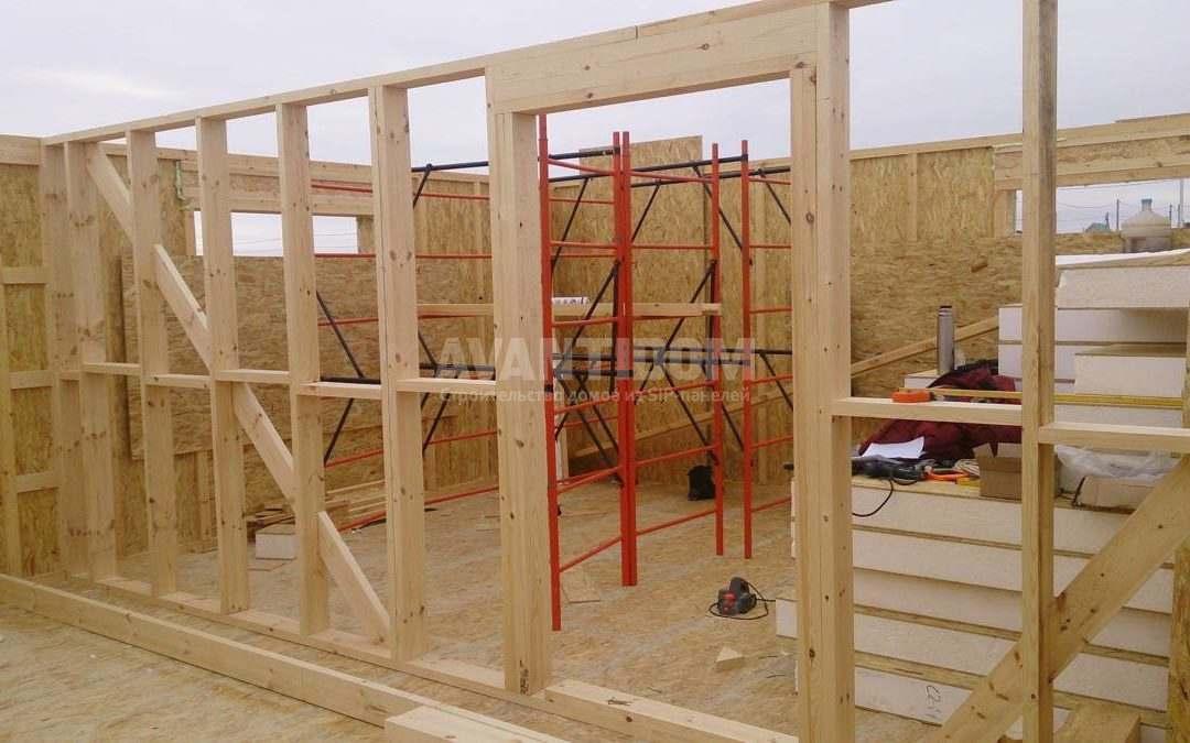Строительство дома по технологии I-SIP п. Подсолнухи (3 часть)