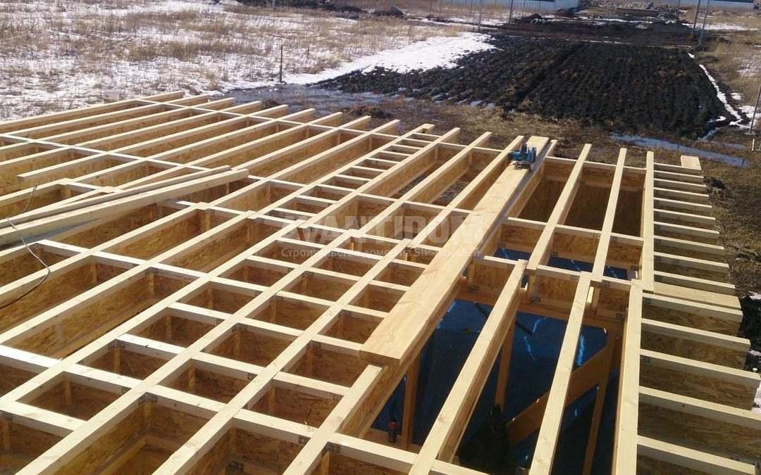 Строительство дома по технологии I-SIP п. Подсолнухи (4 часть)