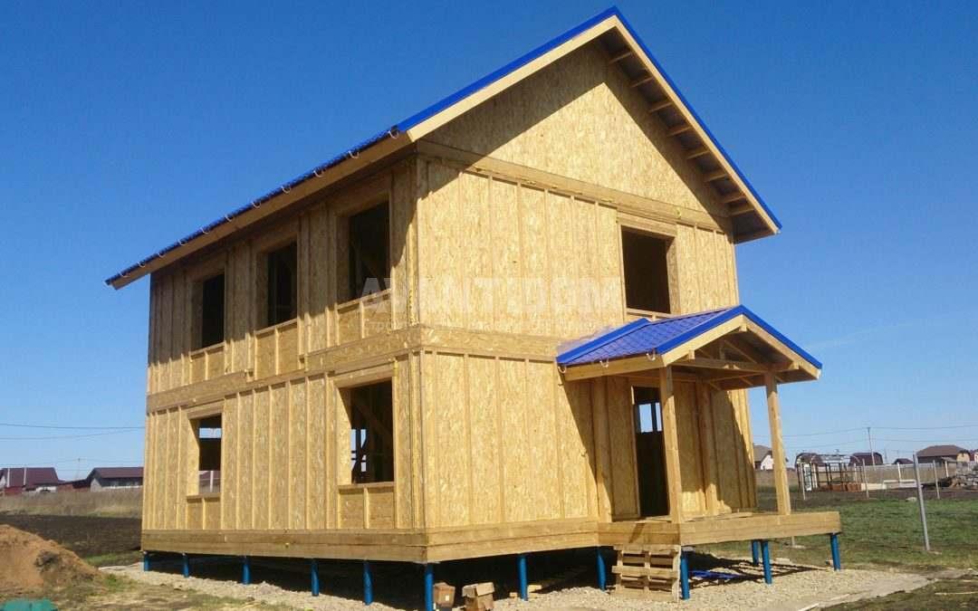 Строительство дома по технологии I-SIP п. Подсолнухи (9 часть — заключительный этап)