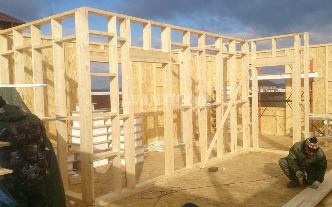 Строительство дома по технологии I-SIP п. Подсолнухи — 2 проект (3 часть)
