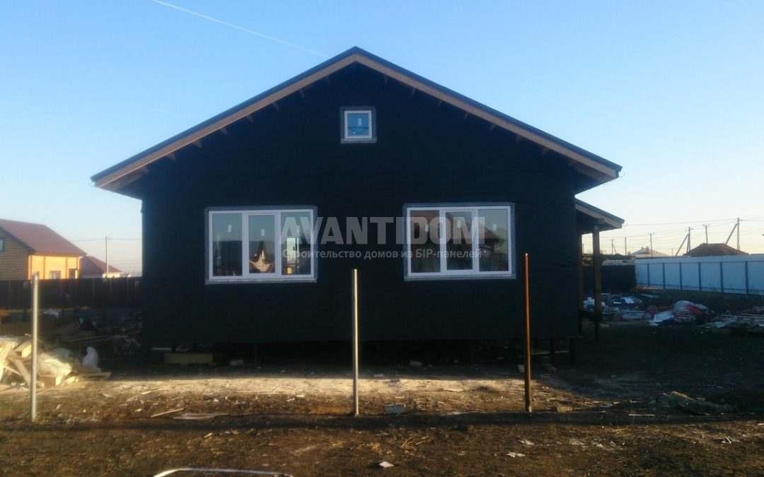 Строительство дома по технологии I-SIP п. Подсолнухи — 2 проект (9 часть)